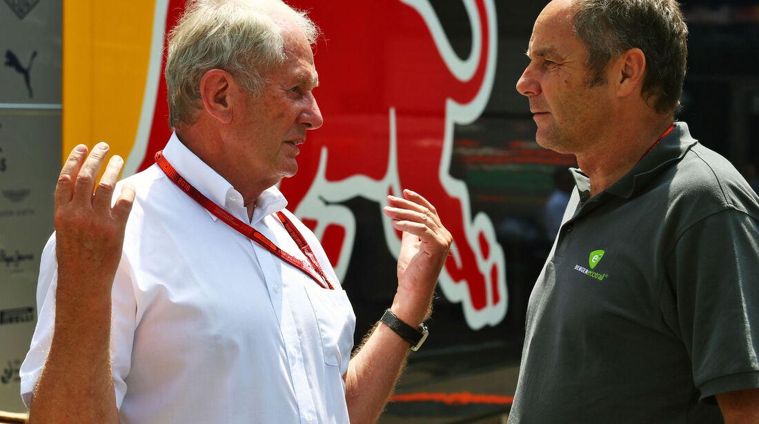 Helmut Marko - Gerhard Berger - Formel 1 - GP Österreich - 2. Juli 2016