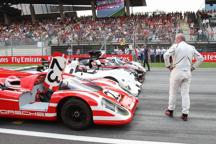 Helmut Marko - Legendenparade - GP Österreich 2017 - Spielberg