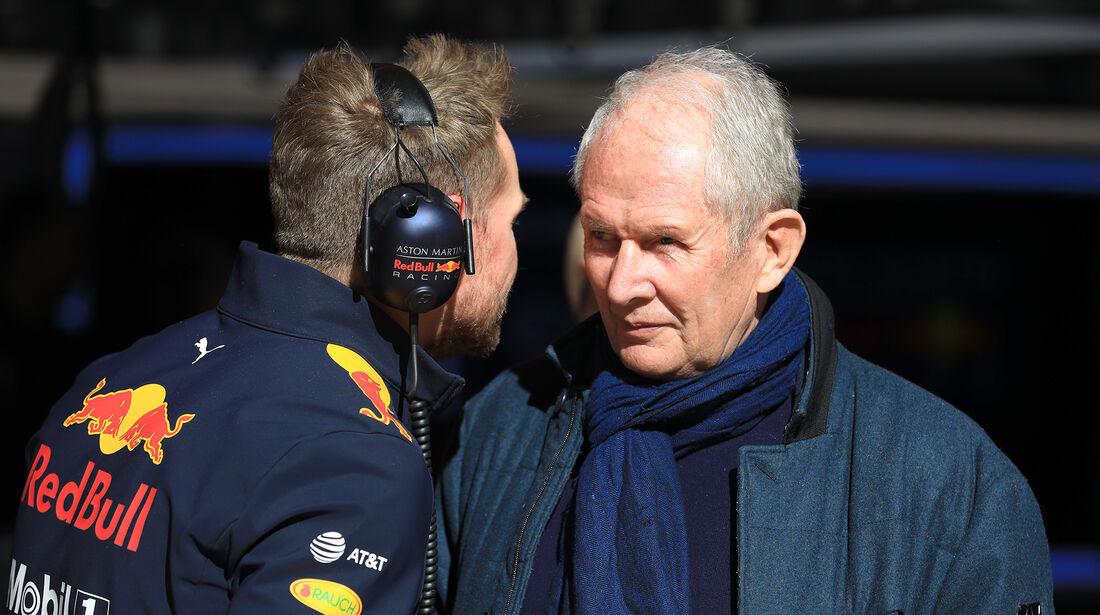 Helmut Marko - Red Bull - F1-Test - Barcelona - Tag 8 - 9. März 2018