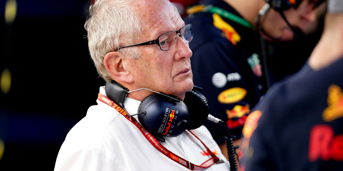 Helmut Marko - Red Bull - GP Japan 2018 - Suzuka - Rennen