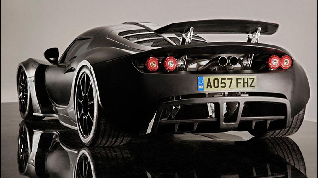Hennessey Venom GT, Heck