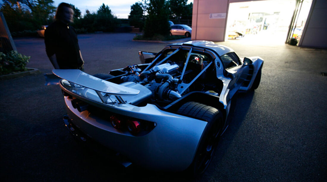 Hennessey Venom GT, Motor