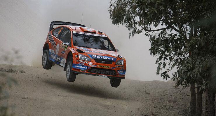 Henning Solberg Ford Focus WRC Rallye Australien 2009