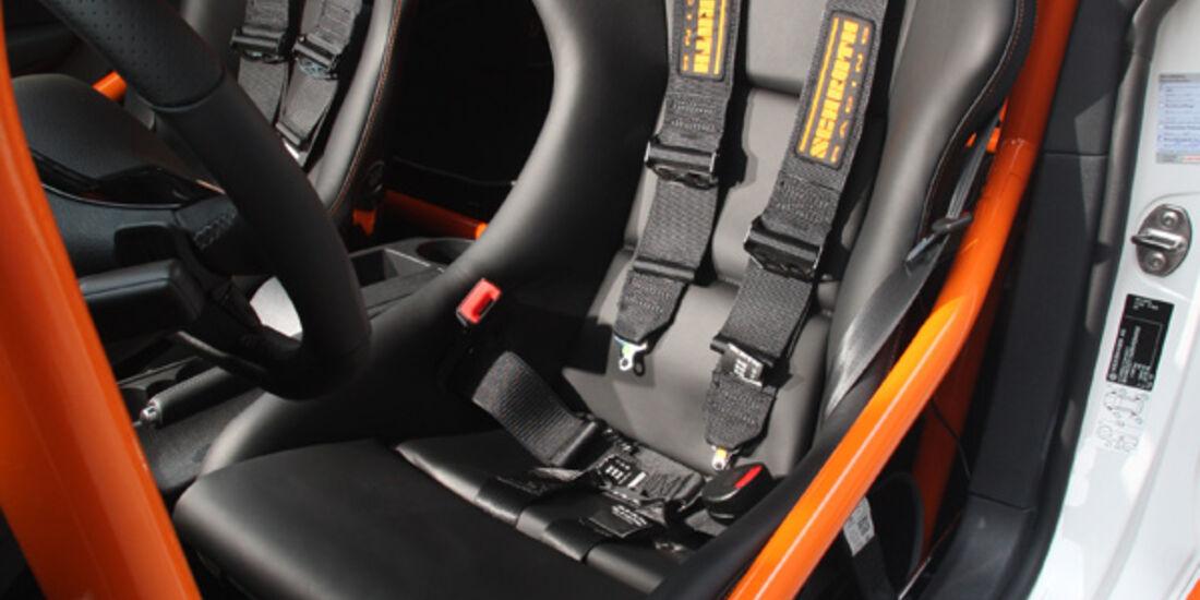 Highspeed-Test, Nardo, ams1511, 391km/h, Mathilda VW Scirocco R, Fahrersitz