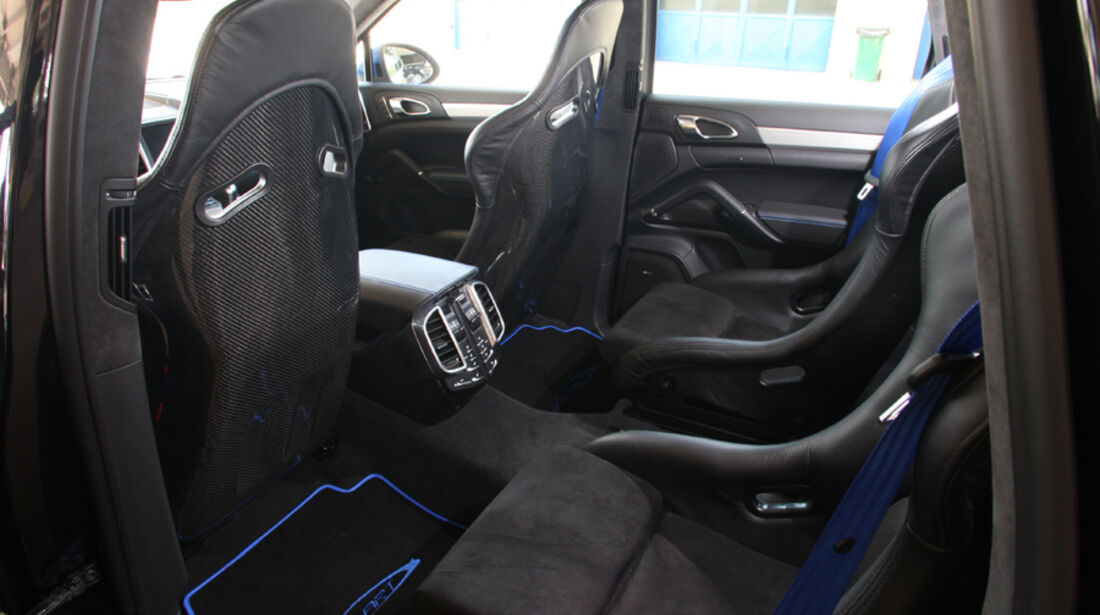 Highspeed-Test, Nardo, ams1511, 391km/h, Speedart Porsche Cayenne Turbo, Innenraum, Sitze