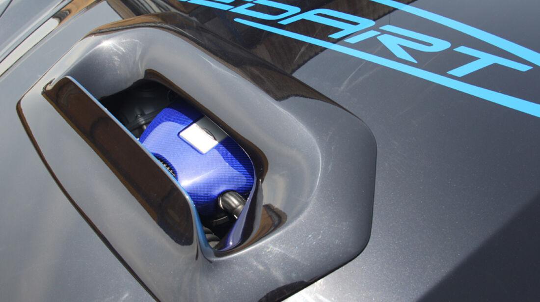 Highspeed-Test, Nardo, ams1511, 391km/h, Speedart Porsche Cayenne Turbo, Luftkühlung, Detail, Motorhaube