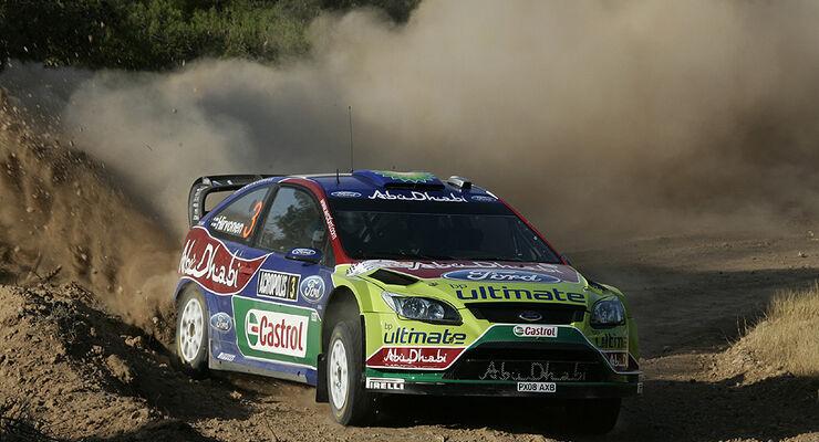 Hirvonen Rallye Griechenland