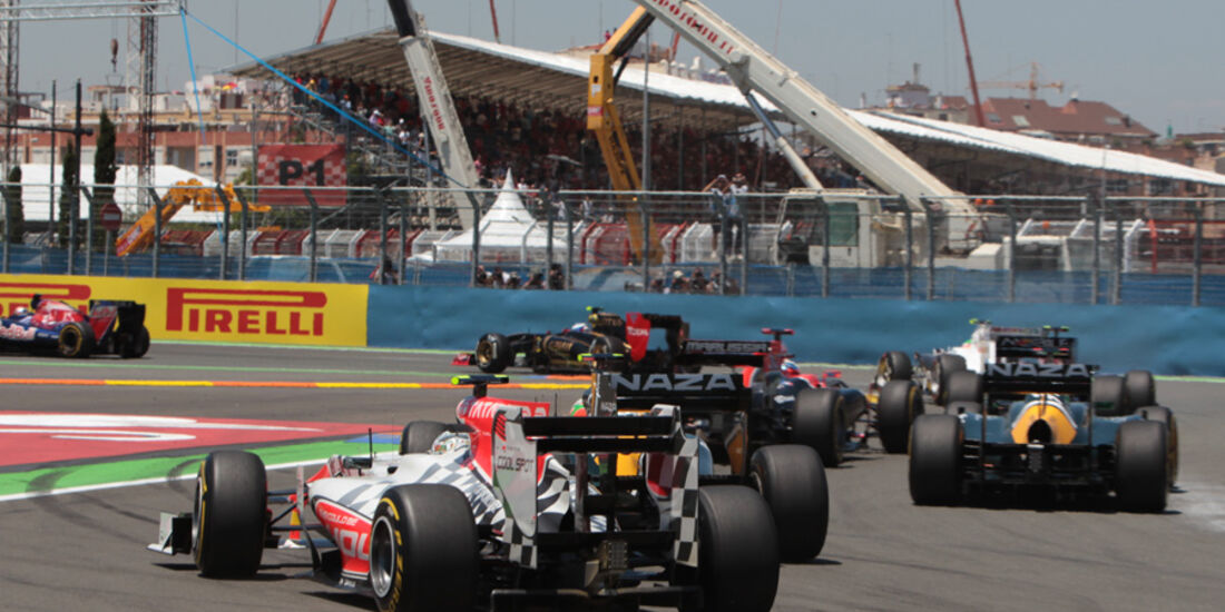 Hispania GP Europa 2011 Valencia