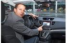 Honda CR-V 1.6 i-DTEC, Cockpit, Michael von Maydell