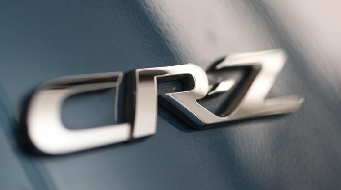 Honda CR-Z Sport, Emblem, Typenbezeichnung