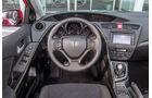 Honda Civic 1.8 i-VTEC Sport, Cockpit, Lenkrad