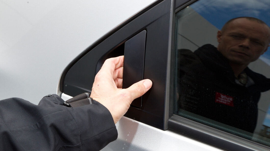 Honda Civic 2.2 i-DTEC, Seitenfenster, Türgriff