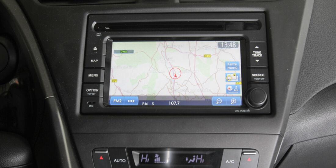 Honda Civic 2.2i-DTEC, Display, Navi