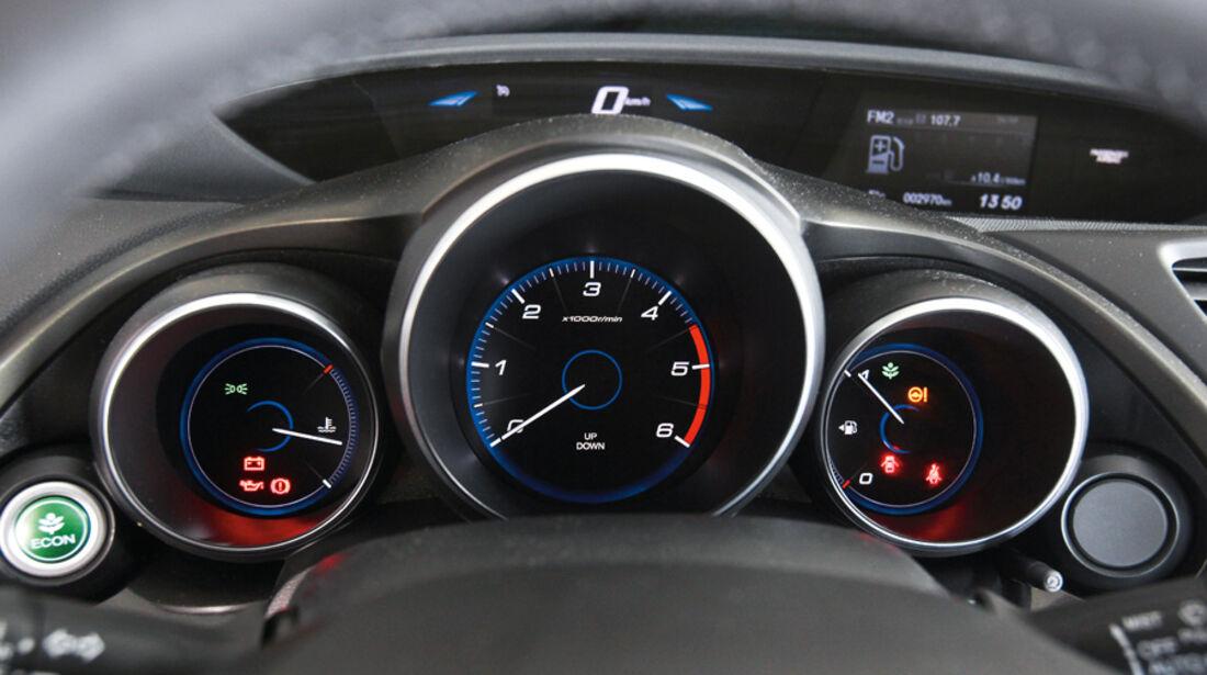 Honda Civic 2.2i-DTEC, Rundinstrumente