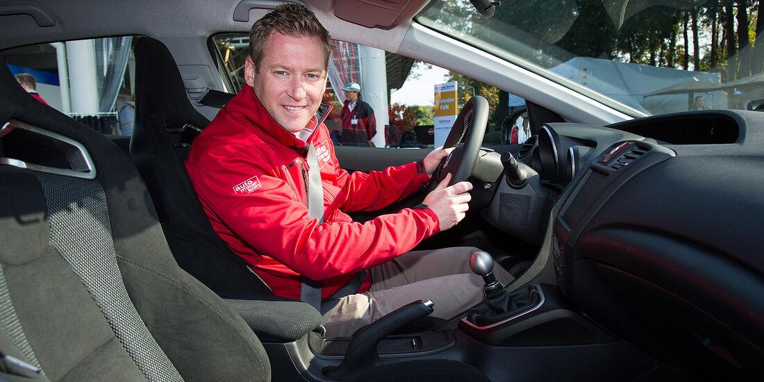 Honda Civic Type R, Innenraum, Cockpit