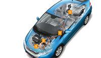 Honda, Hybrid, Grafik