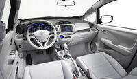 Honda Jazz EV Concept, Cockpit