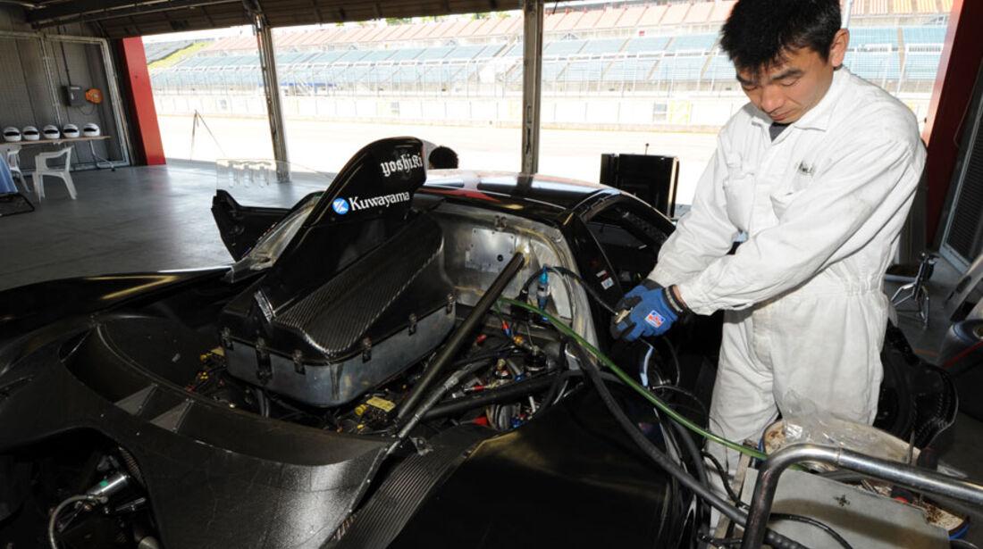 Honda NS-X, Airbox, Motor