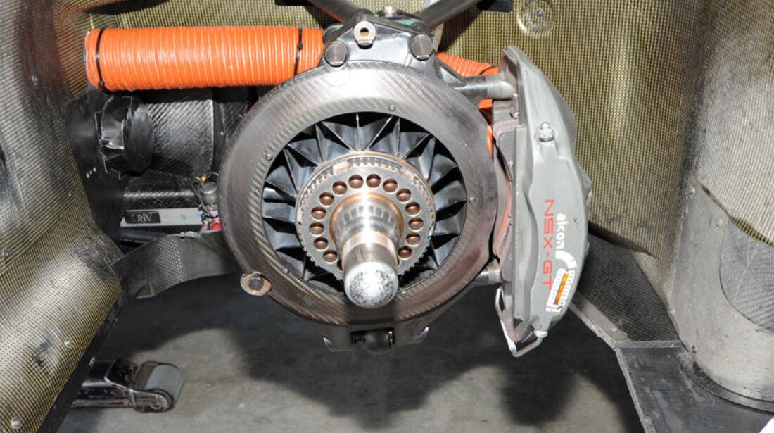 Honda NS-X, Bremsscheibe