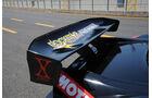 Honda NS-X, Heckflügel
