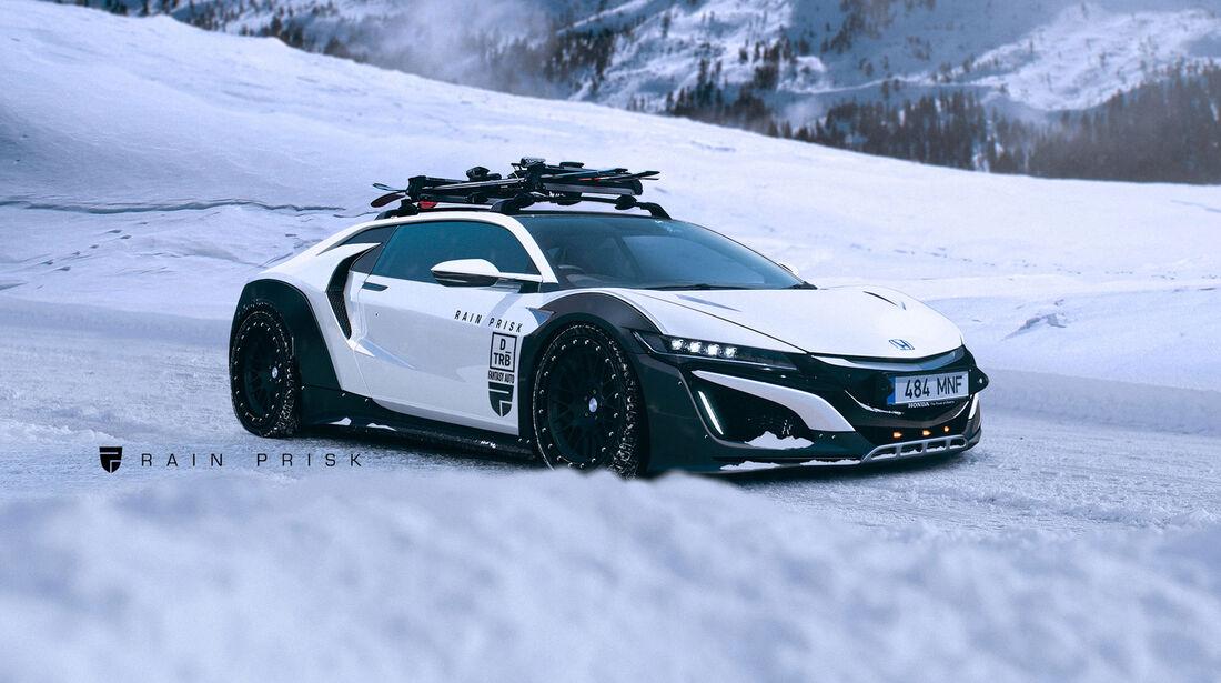 Honda NSX Shooting Brake - Fantasie-Auto