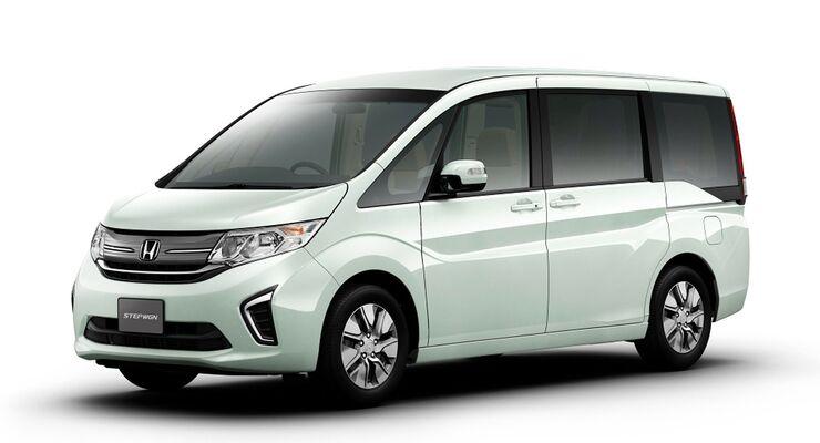 Honda Stepwgn: Japan-Van mit Waku-Waku-Tür - auto motor und sport