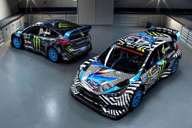 Hoonigan-Ford Focus RS, World Rallycross 2016, Ken Block, 04/2016