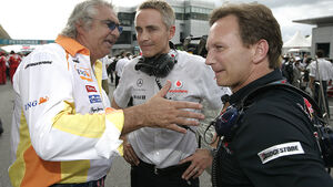 Horner, Whitmarsh & Briatore