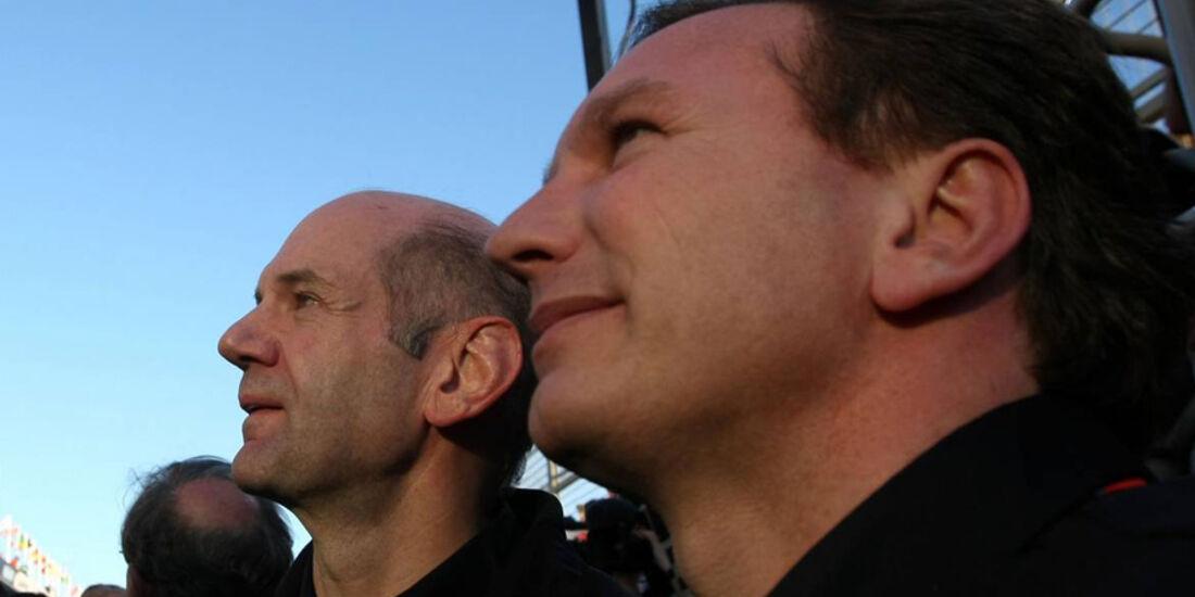 Horner und Newey GP Australien 2011