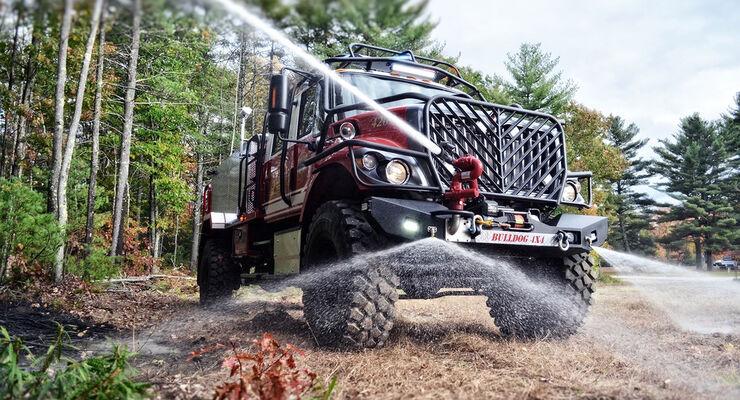 Bulldog 4x4 Fire Truck Amerikas Sch 228 Rfstes Feuerwehrauto