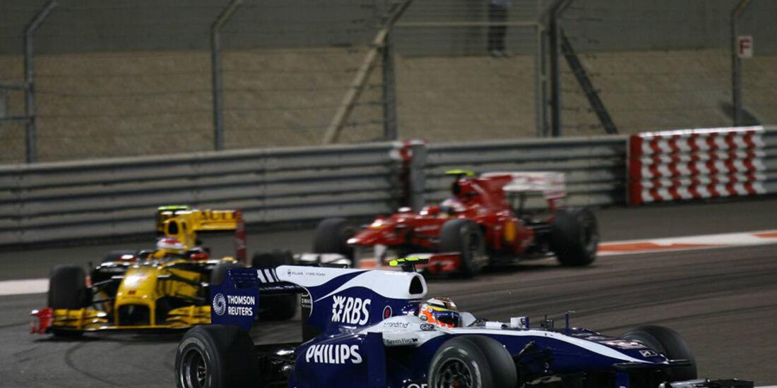 Hülkenberg GP Abu Dhabi 2010