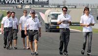 Hülkenberg & Gutierrez - Sauber - Formel 1 - GP Indien - Delhi - 24. Oktober 2013