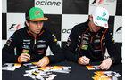 Hülkenberg & Perez - Force India - Formel 1 - GP Kanada - Montreal - 5. Juni 2014