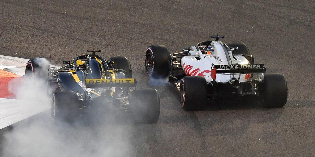 Hülkenberg vs. Grosjean - GP Abu Dhabi 2018