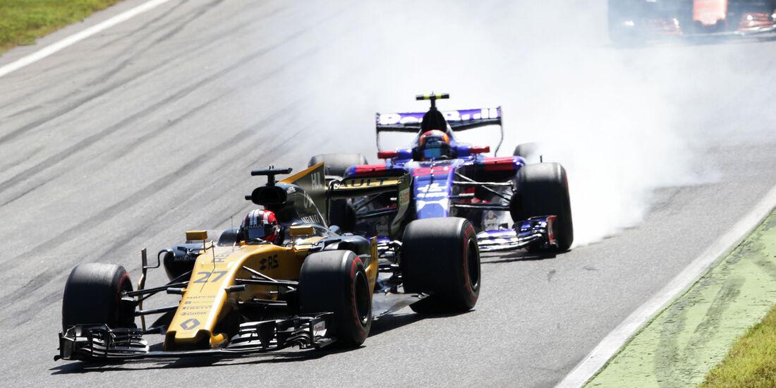 Hülkenberg vs. Sainz - GP Italien 2017