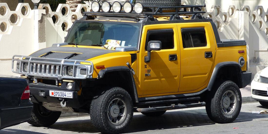 Hummer - Carspotting Bahrain 2014