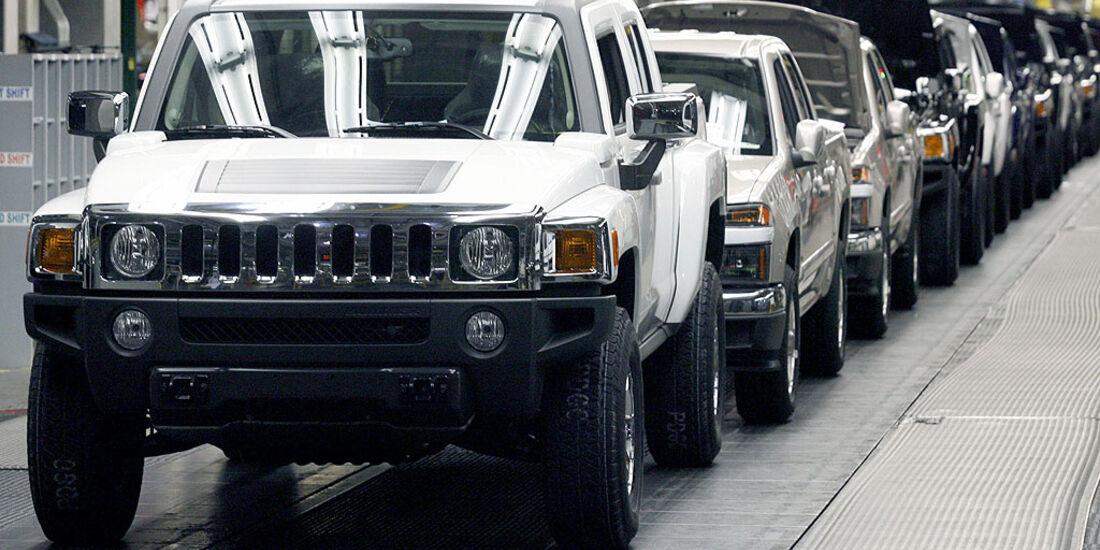 Hummer GM Produktion Band Werk