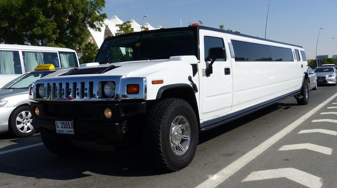 Hummer Stretchlimo - F1 Abu Dhabi 2014 - Carspotting