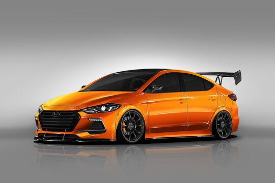 Hyundai Elantra Sport BTR Concept
