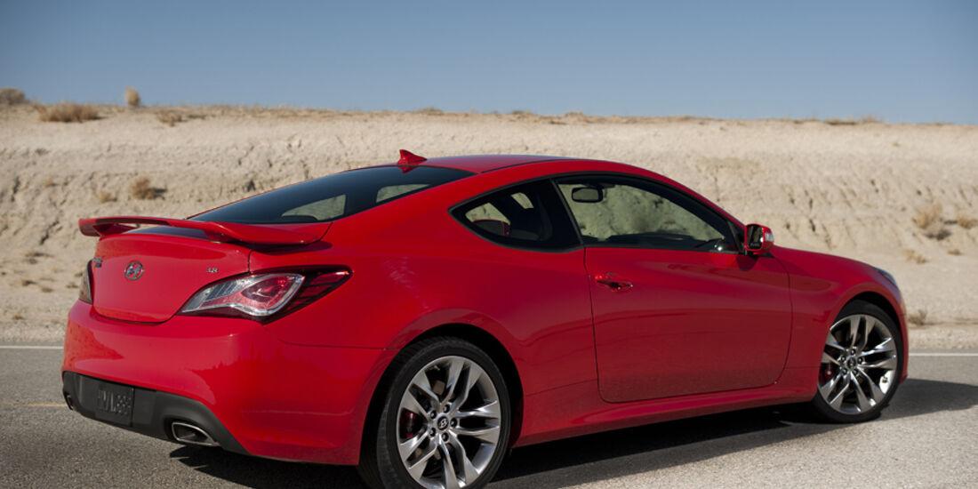 Hyundai Genesis Coupé GT, Seitenansicht