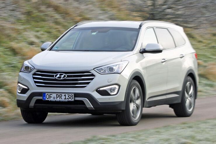 hyundai santa fe (typ dm) technische daten - auto motor und sport