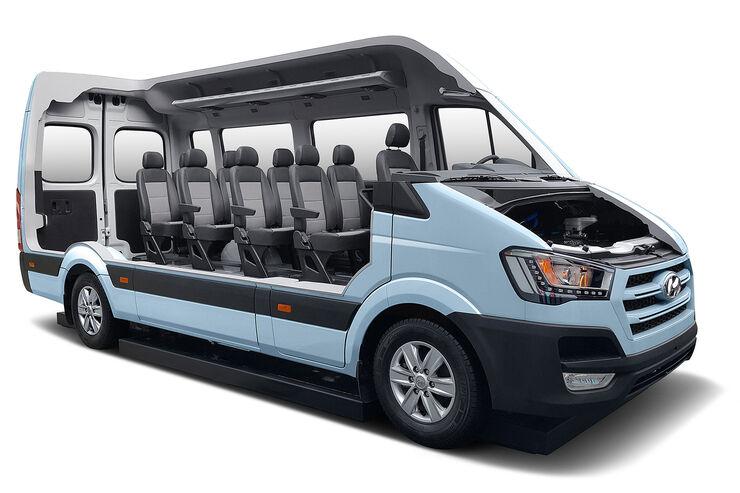 Hyundai H350 Fuel Cell Concept