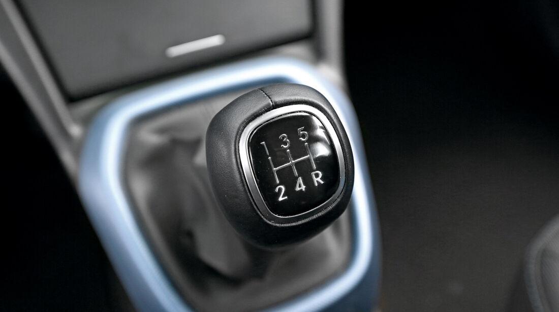 Hyundai I10 Blue 1.0, Schalthebel
