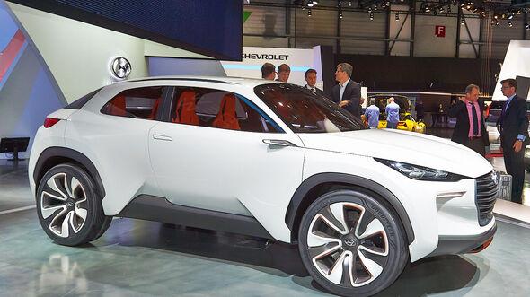 Hyundai Intrado Concept, Messe, Genf, 2014