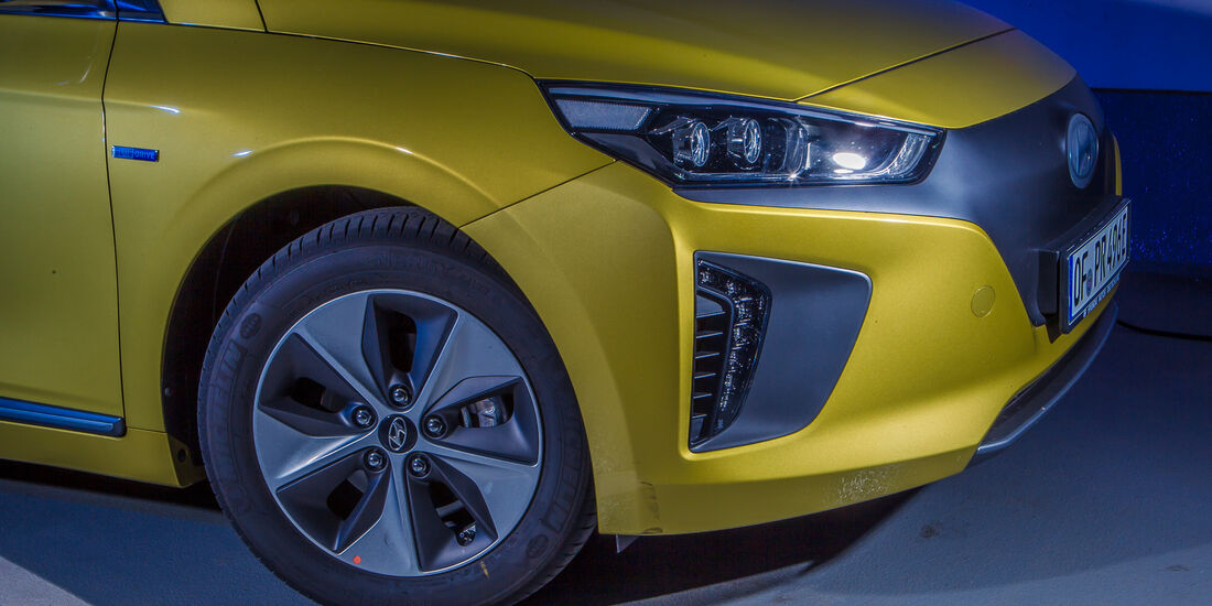 Hyundai Ioniq Elektro, Rad, Felge
