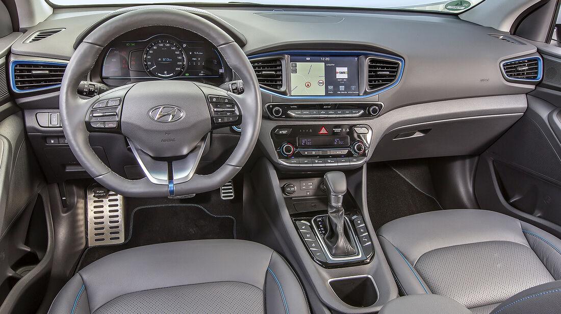 Hyundai Ioniq Plug-in-Hybrid, Interieur