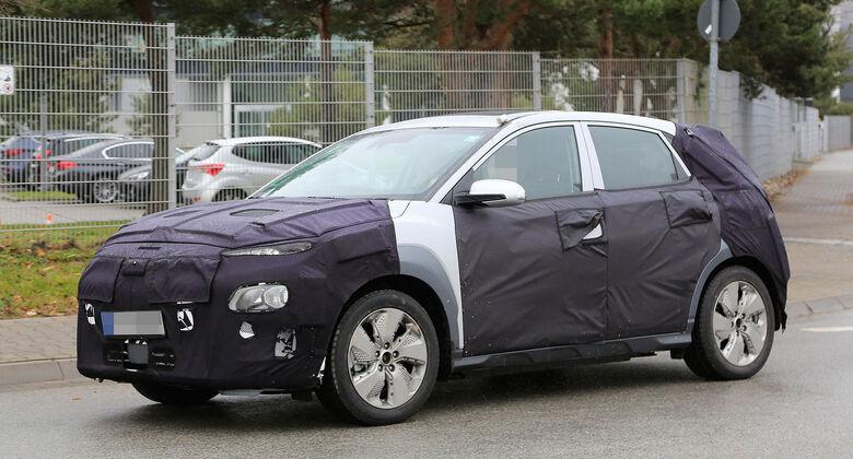 Hyundai Kona EV Erlkönig