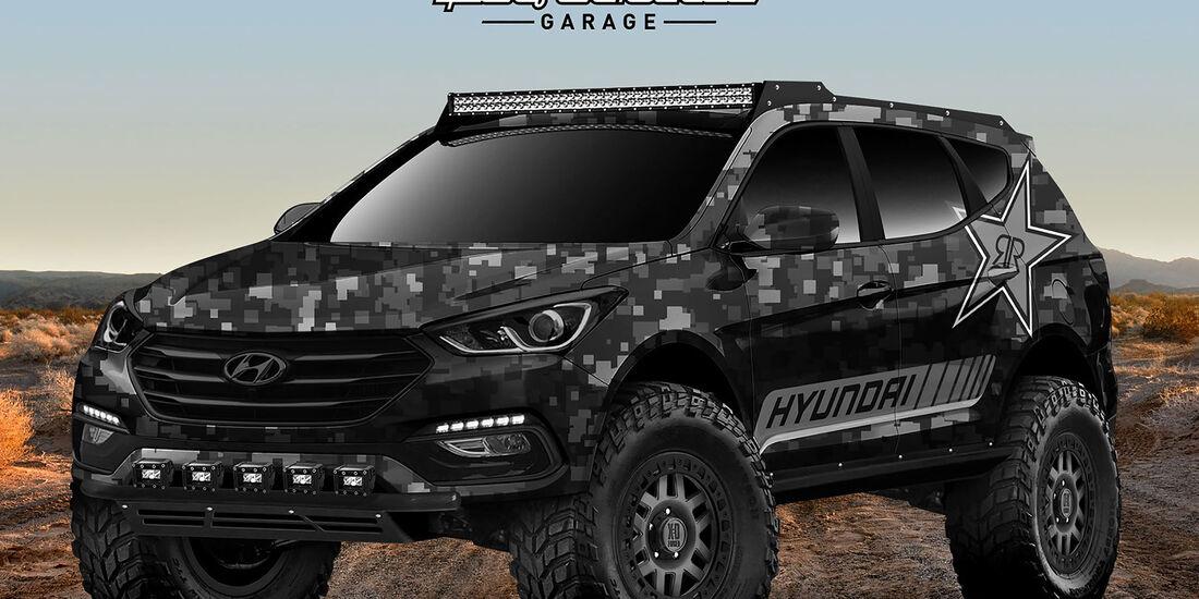 Hyundai Rockstar Energy Moab Extreme Offroader Santa Fe Sport Concept