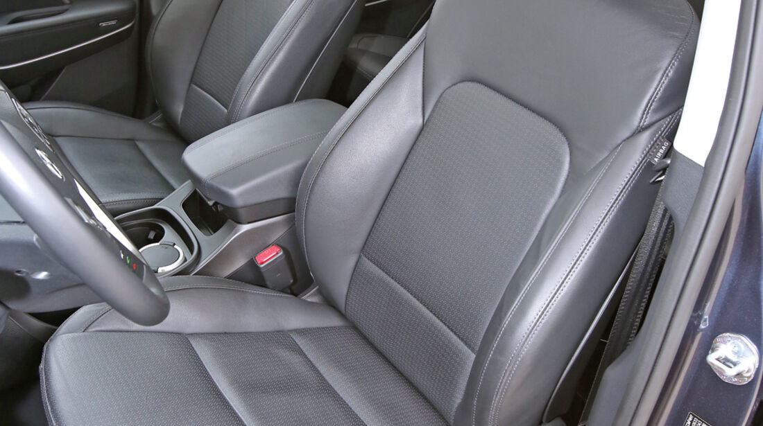 Hyundai Santa Fe 2.2 CR Di 4WD, Fahrersitz