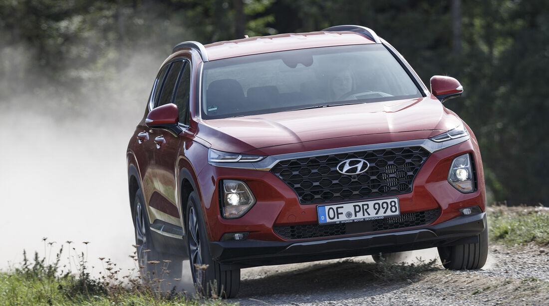 Hyundai Santa Fe 2.2 CrDi 4WD Premium, Exterieur